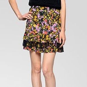 Ella Moss Floral Mini Skirt
